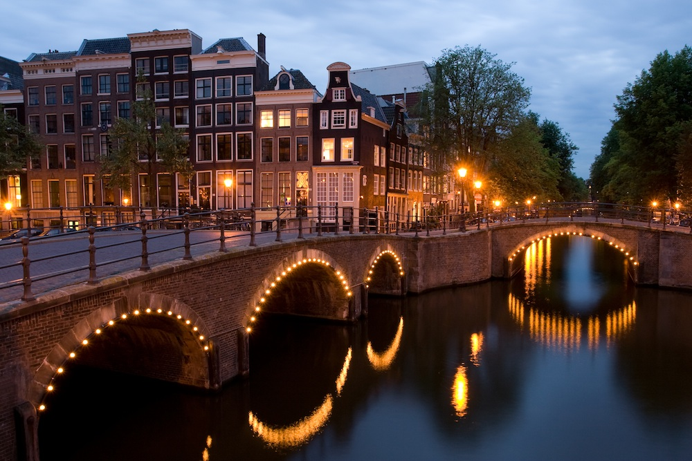 """KeizersgrachtReguliersgrachtAmsterdam"" by Massimo Catarinella - Own work. Licensed under CC BY-SA 3"